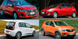 lista de carros mais baratos do brasil