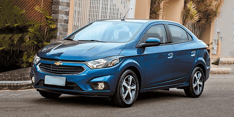 GM CHEVROLET PRISMA - Carros mais roubados em sp